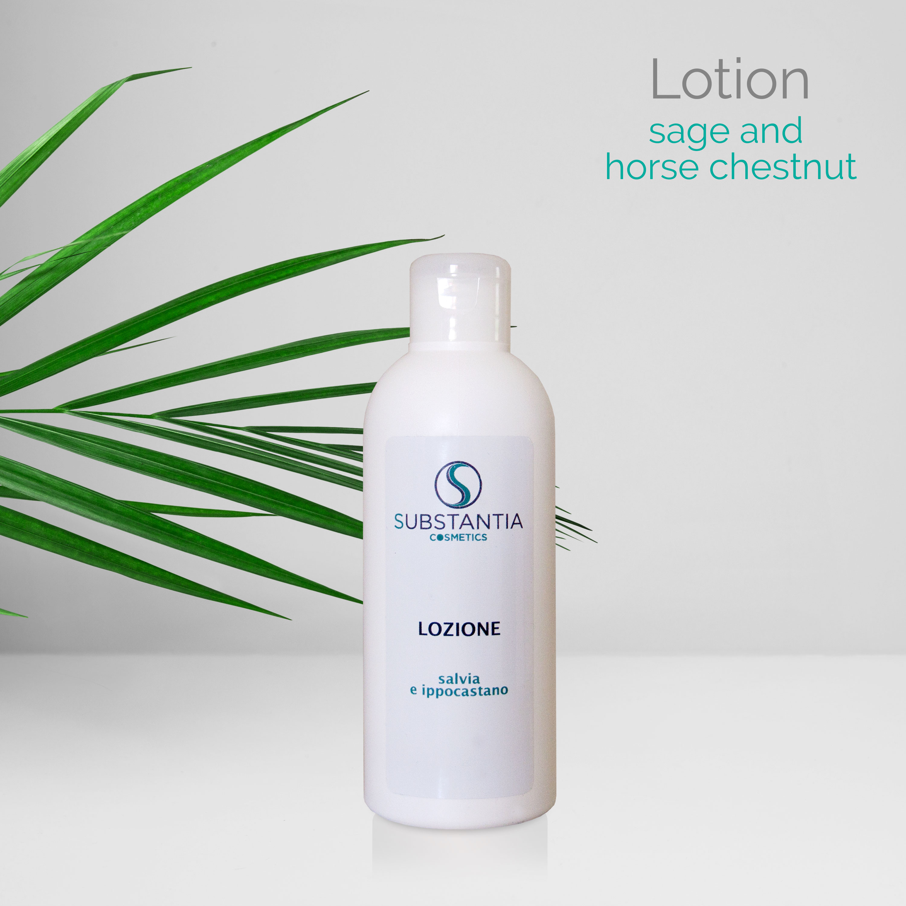 Lotion , sage and horse chestnut